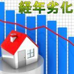 経年劣化と家賃値下げ